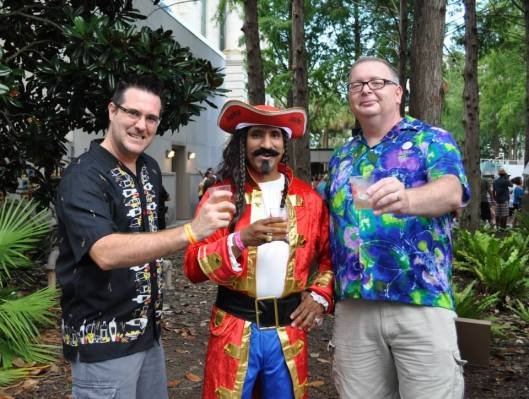 Matthew Peters, Captain Morgan, and John King were drunken Odyssians on June 21st.