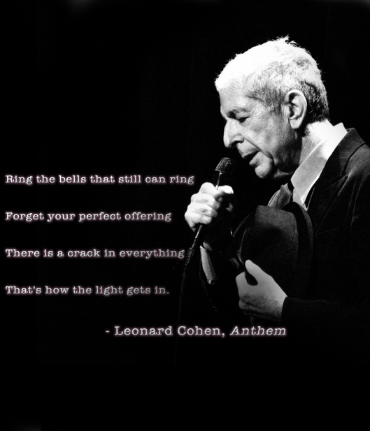 Leonard Cohen Anthem