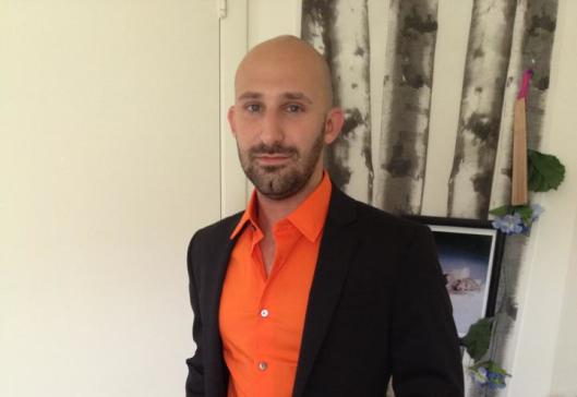 Mark Pursell in Orange