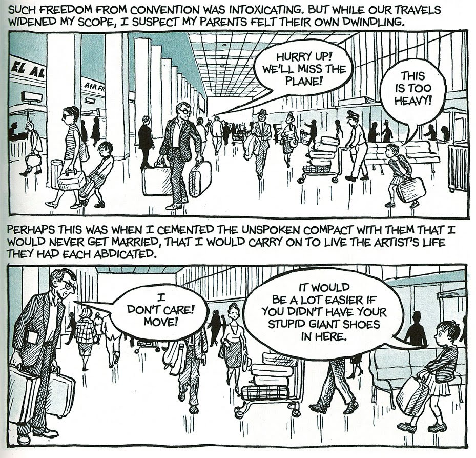 Gutter Space #10: Narration in Alison Bechdel's Fun Home