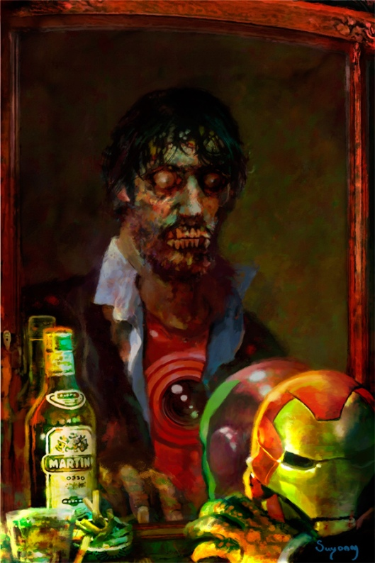 Marvel Zombies Tony Stark