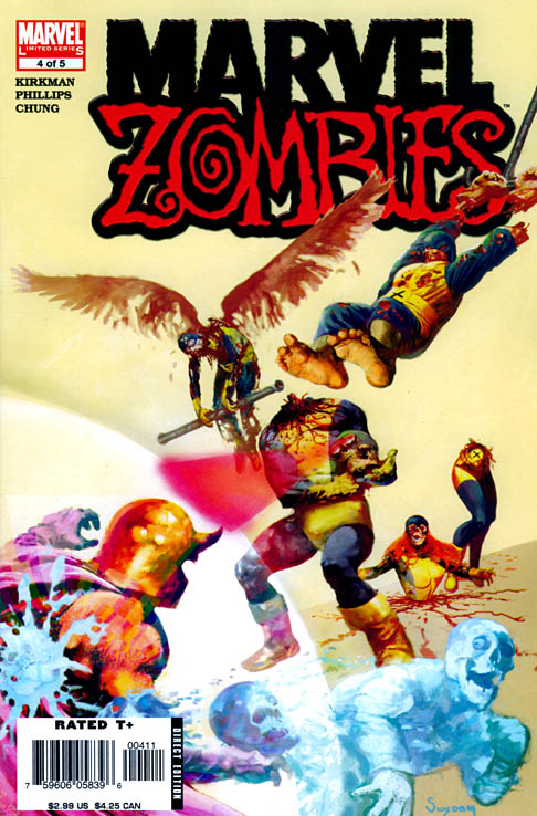 Marvel Zombies X Men