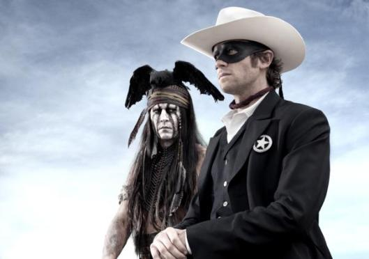 Lone Ranger First Photo