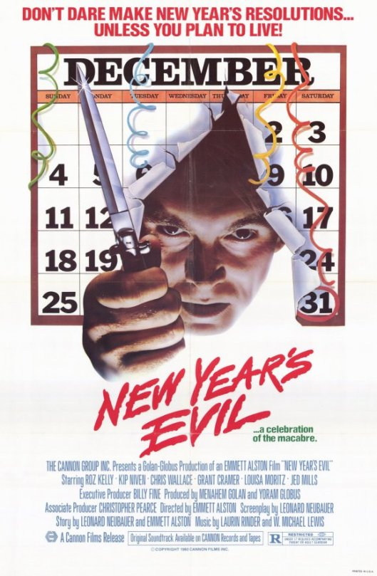 new years evil movie poster 1981