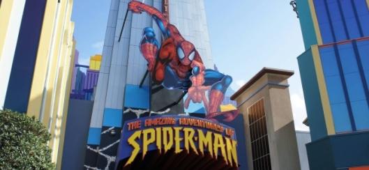 Spider-Man Ride Banner