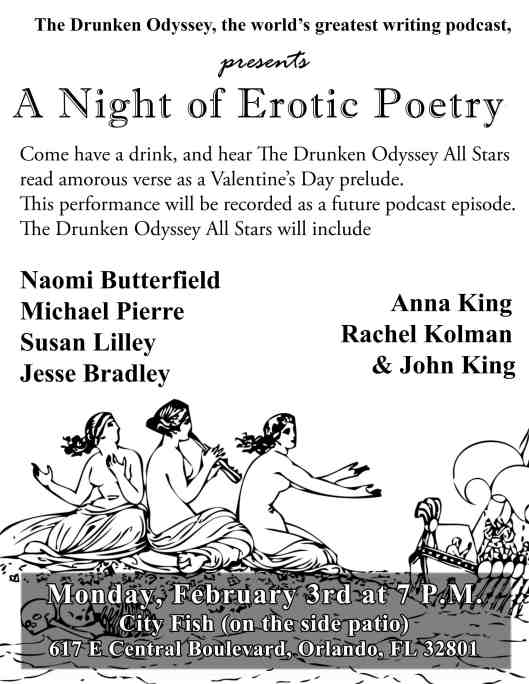 Erotic Poetry Night 2014