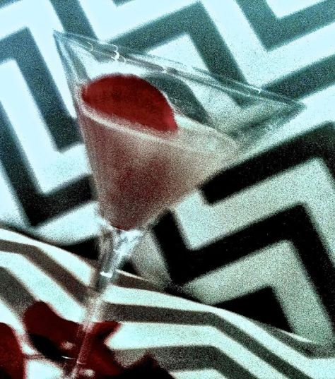 snow rose martini