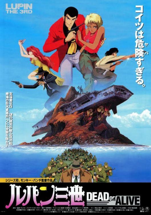 Lupin III DoA Poster