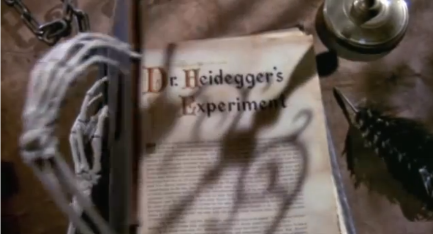 dr. heideggers experiment theme essay In this lesson we will take a closer look at ''dr heidegger's experiment,'' a short story summary & theme dr heidegger's experiment: of mice and men essay.