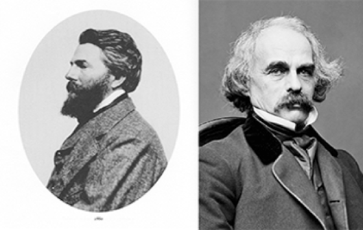 herman melville and nathaniel hawthorne essay Free essay: the lawyer then understands that before working for him, bartleby was employed by the dead letter company, which makes him wonder if this.