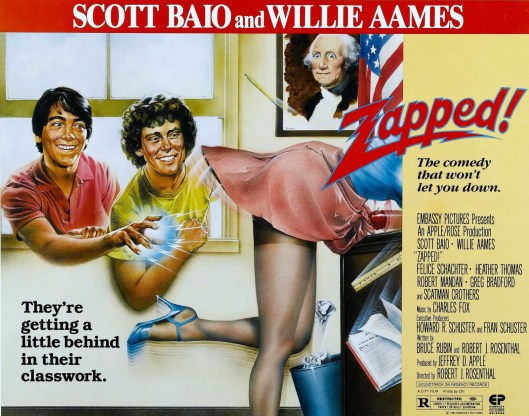 Zapped Half Sheet Poster