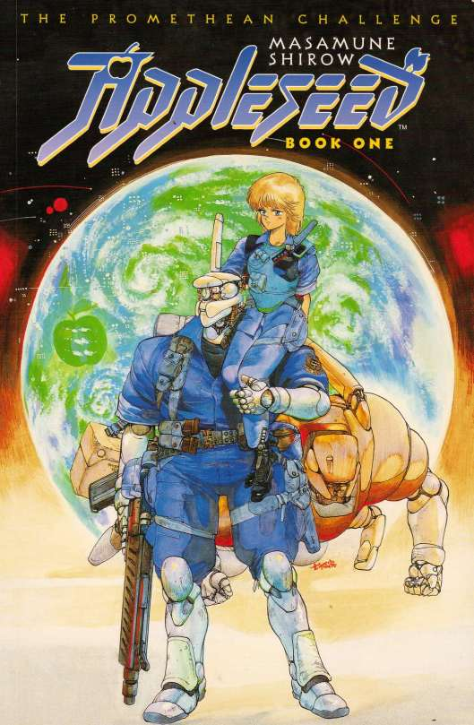 Appleseed - Book 1 - Cover