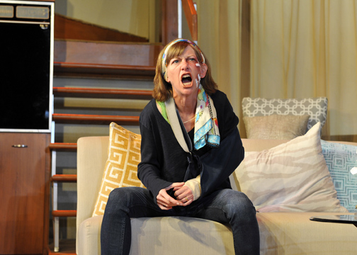 Ginger Lee McDermott as Molly in Jennifer Hoppe-House's Bad Dog (Photo by Tony Firriolo).