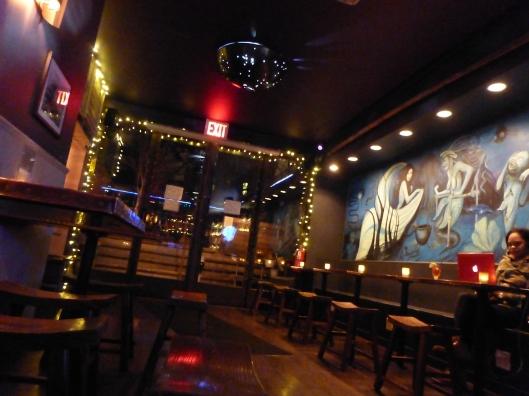 Sea Witch Tavern interior