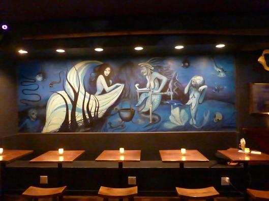 Sea Witch Tavern Mural