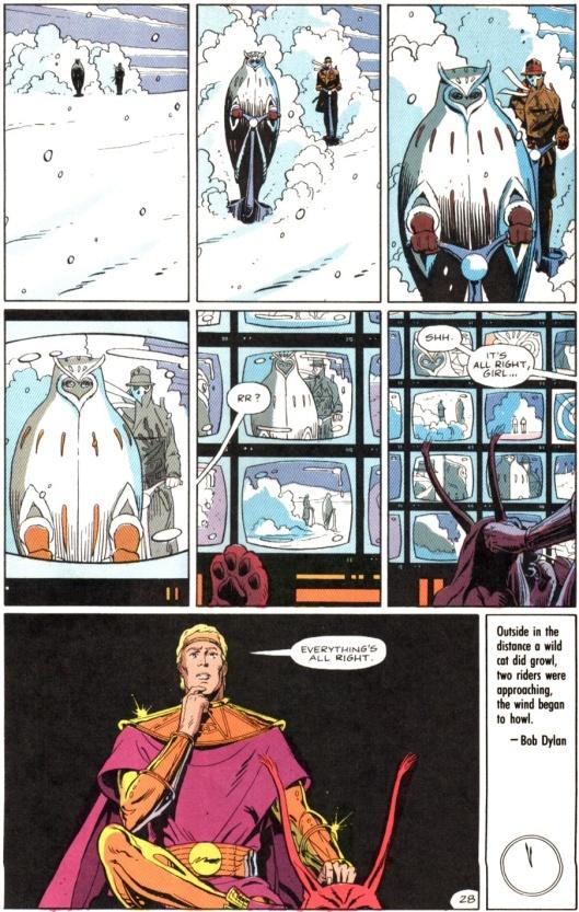 Watchmen 10 ending