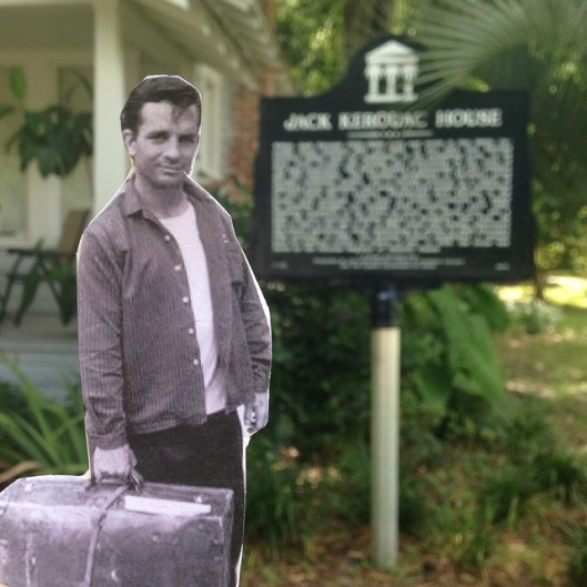 Flat Jack Kerouac at Kerouac House