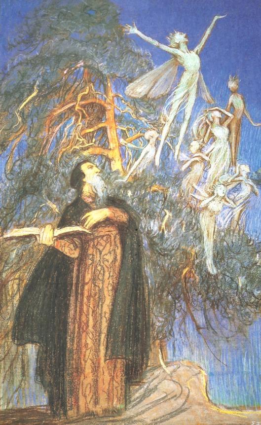 Prospero and Ariel