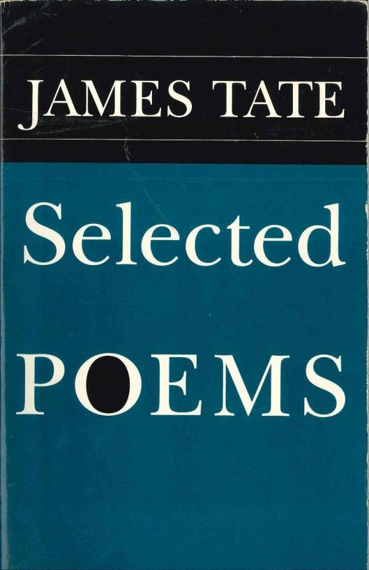 James Tate Selected Poems