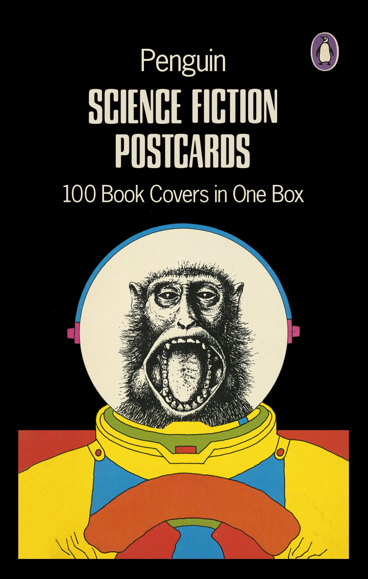 Make A Penguin Book Cover : Buzzed books penguin science fiction postcards the