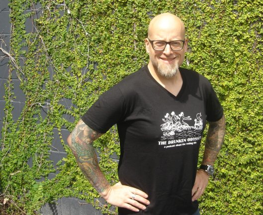Tom Lucas Sporting a TDO T-shirt