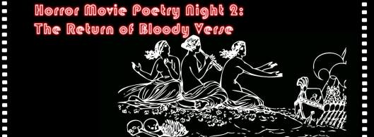 Horror Movie Poetry Night 2