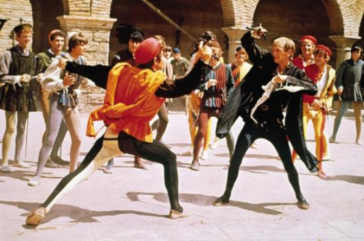 Romeo and Juliet fight