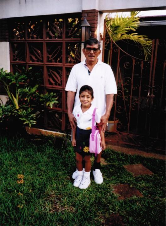 B & Grandfather