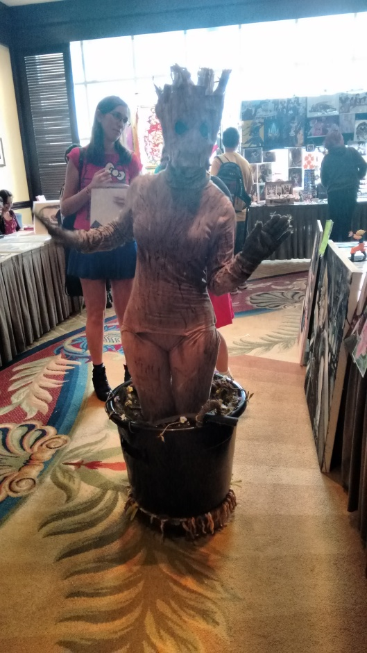 Cosplay Baby Groot