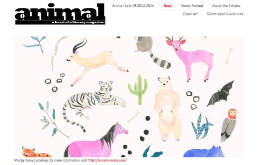 Animal A Beast of a Literary Magazine