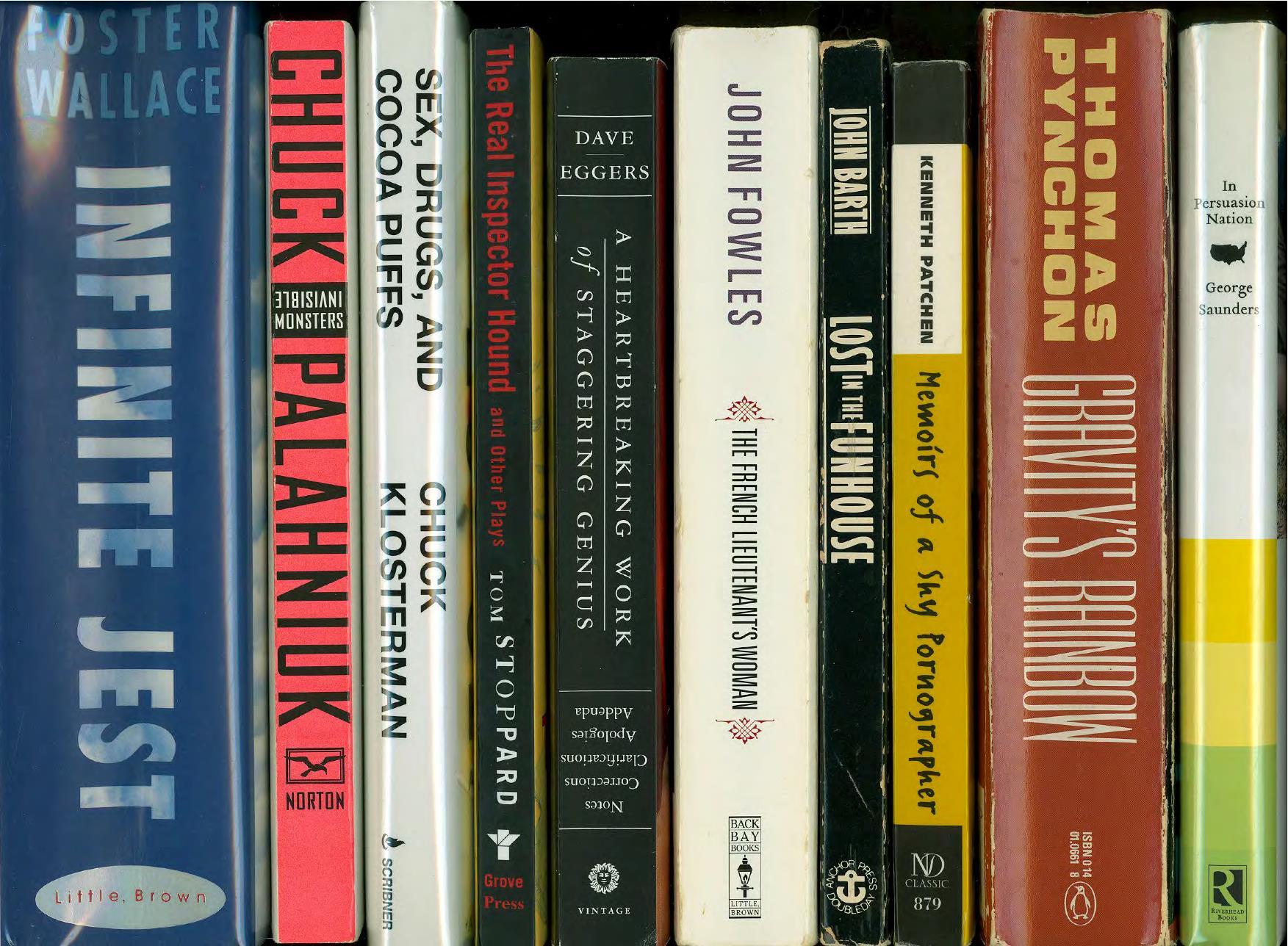 Postmodern books