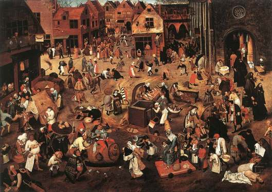 bruegel carnival-life-in-the-middle-ages
