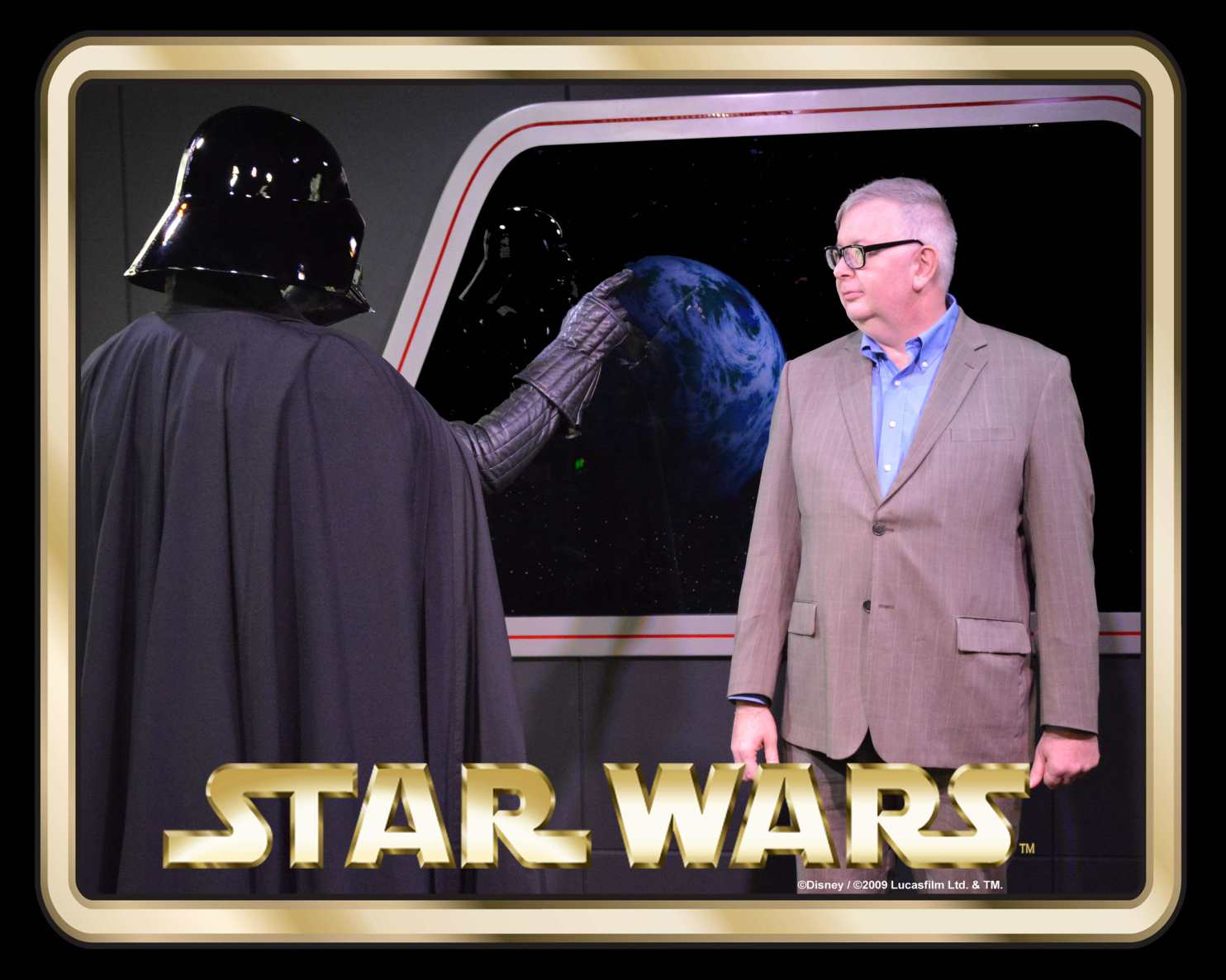 Darth and John