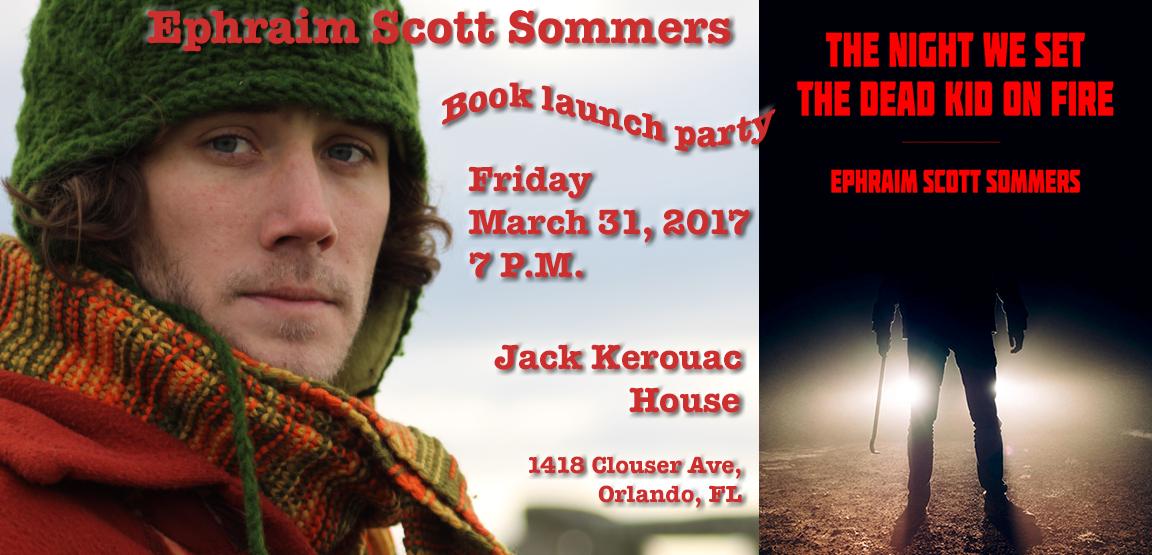 Ephraim Scott Sommers book launch final