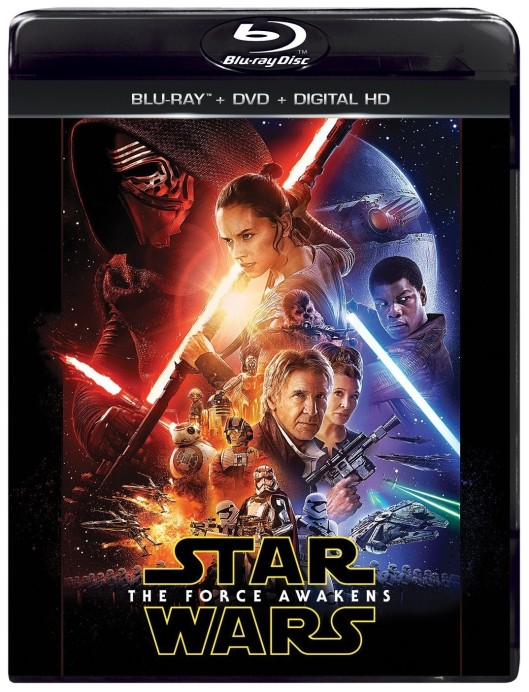 The Force Awakens Blu Ray