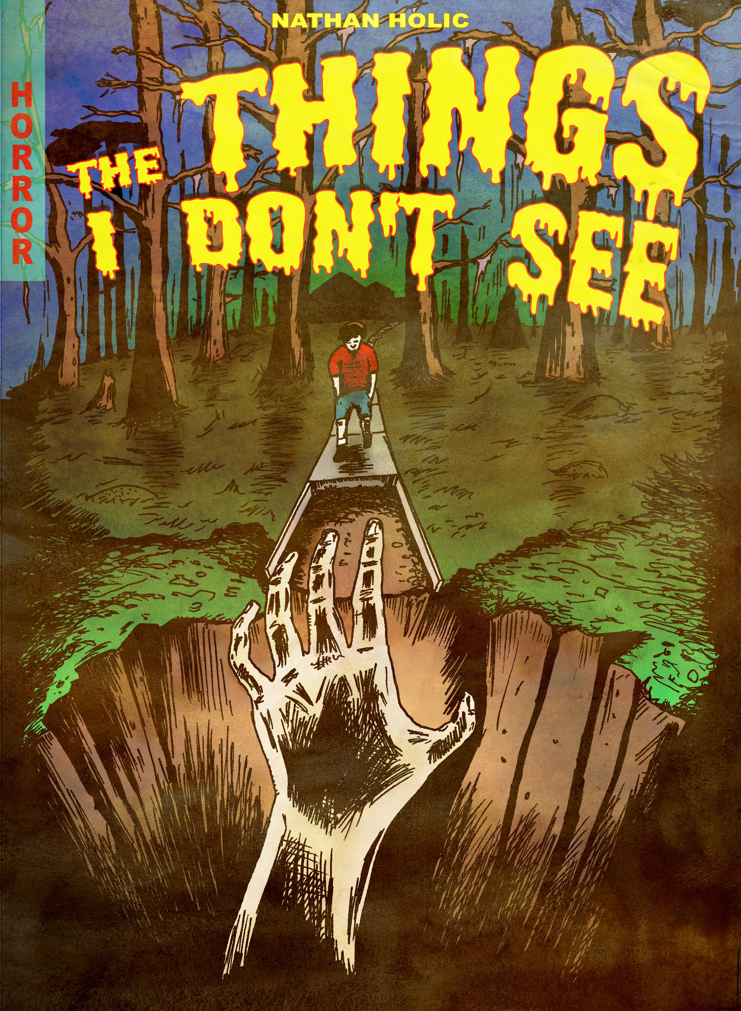 Things I Dont See - Comic Cover