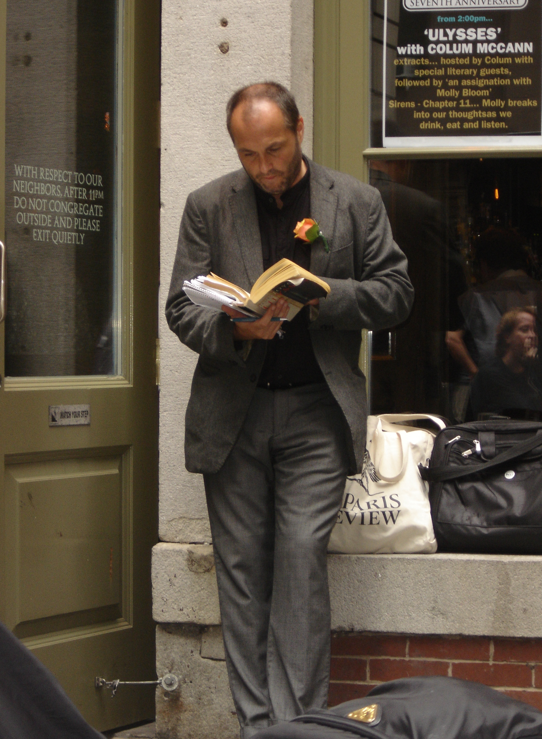 Colum McCann by John King