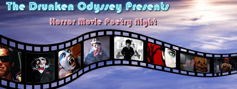 Horror Movie Poetry Night 4