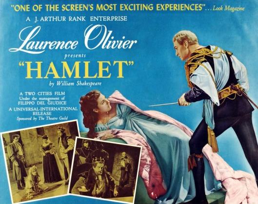 Olivier Hamlet poster