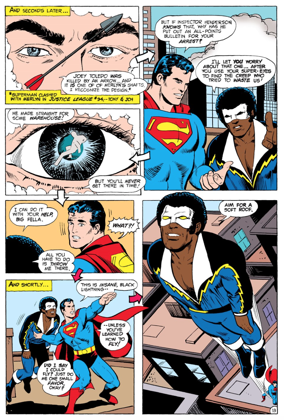 Black Lightning & Superman