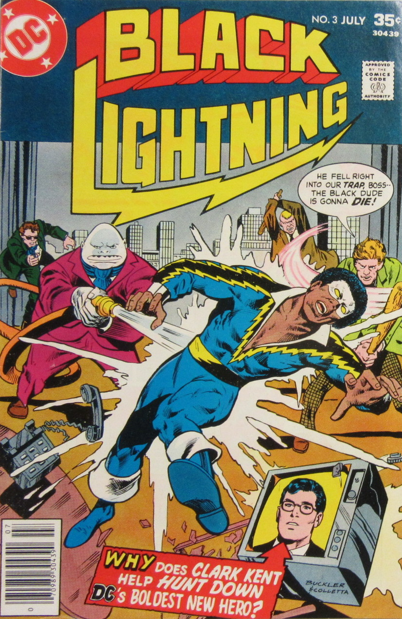 Black Lightning Tobias Whale comics