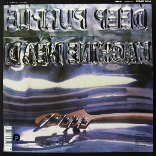Deep Purple Machine Head back