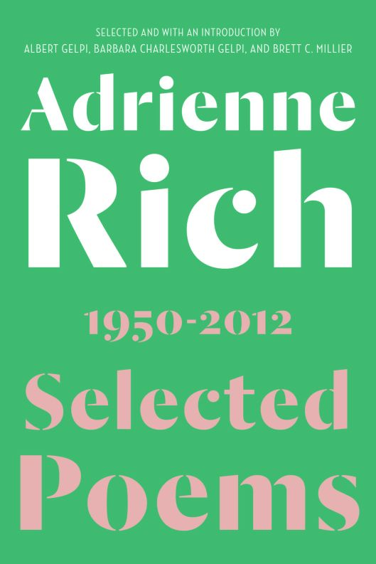 Adrienne Rich Selected Poems
