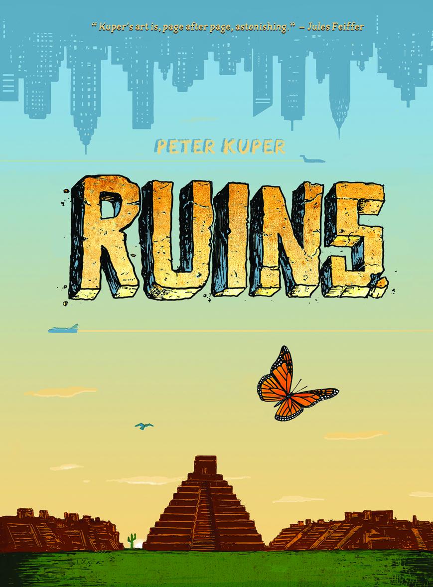 Ruins- Cover Peter Kuper